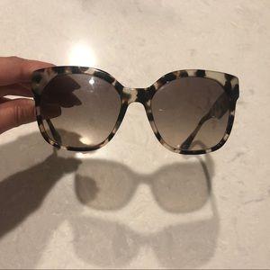 Tortoise Shell Prada Sunglasses